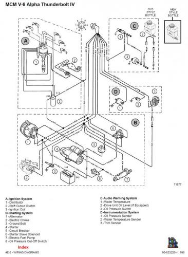inkoppling elektrisk br u00e4nslepump  hj u00e4lp    mercruiser 4 3