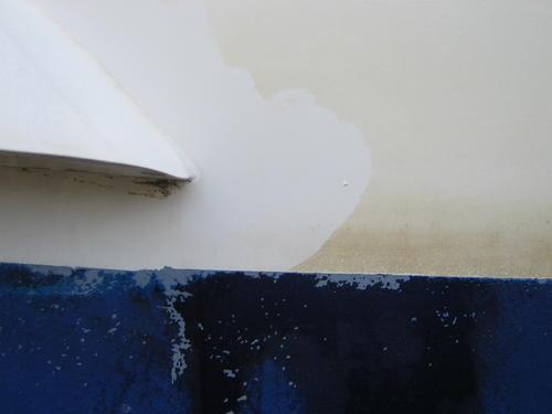 rengöra båt oxalsyra