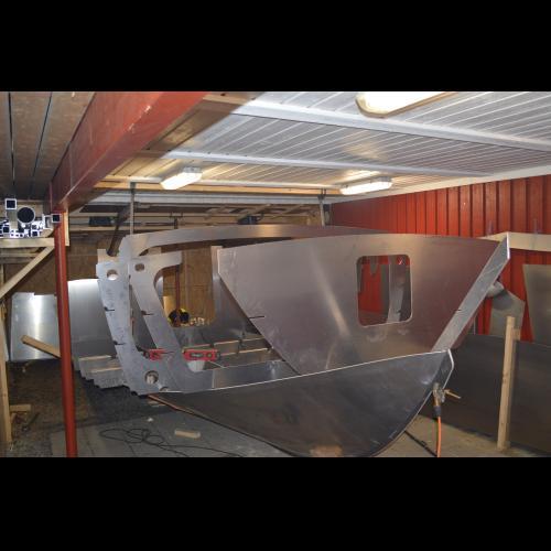 bygga båt aluminium