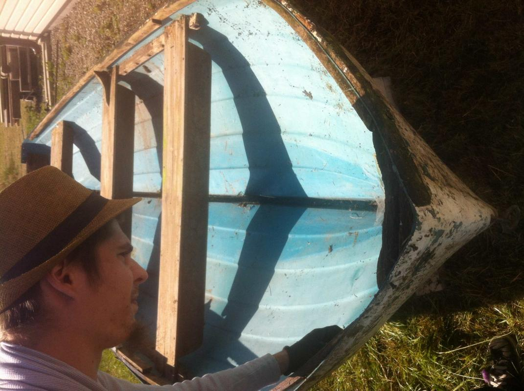 renovera gammal plastbåt
