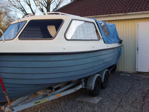 polera båt med autosol
