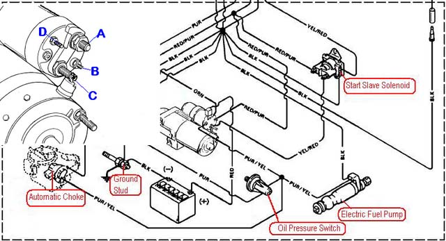 inkoppling elektrisk br u00e4nslepump  hj u00e4lp mercruiser 4 3 mek   teknik maringuiden