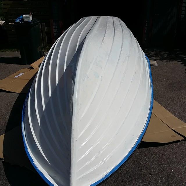 2 komponentsfärg båt