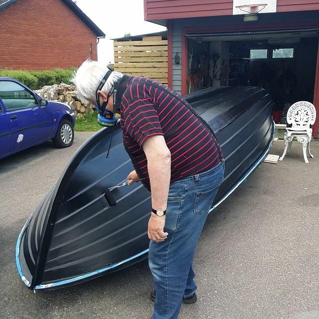 Toppen Måla skrov - MotorbåtSnack - Maringuiden NL-18