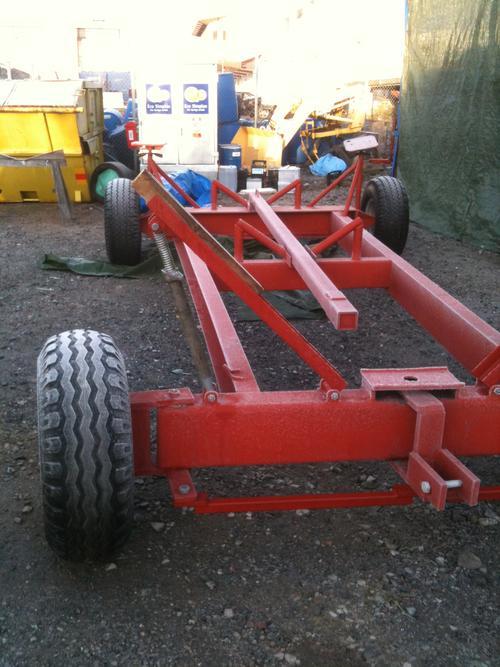 Icke gamla bygga båtvagn - SeglarSnack - Maringuiden YH-04
