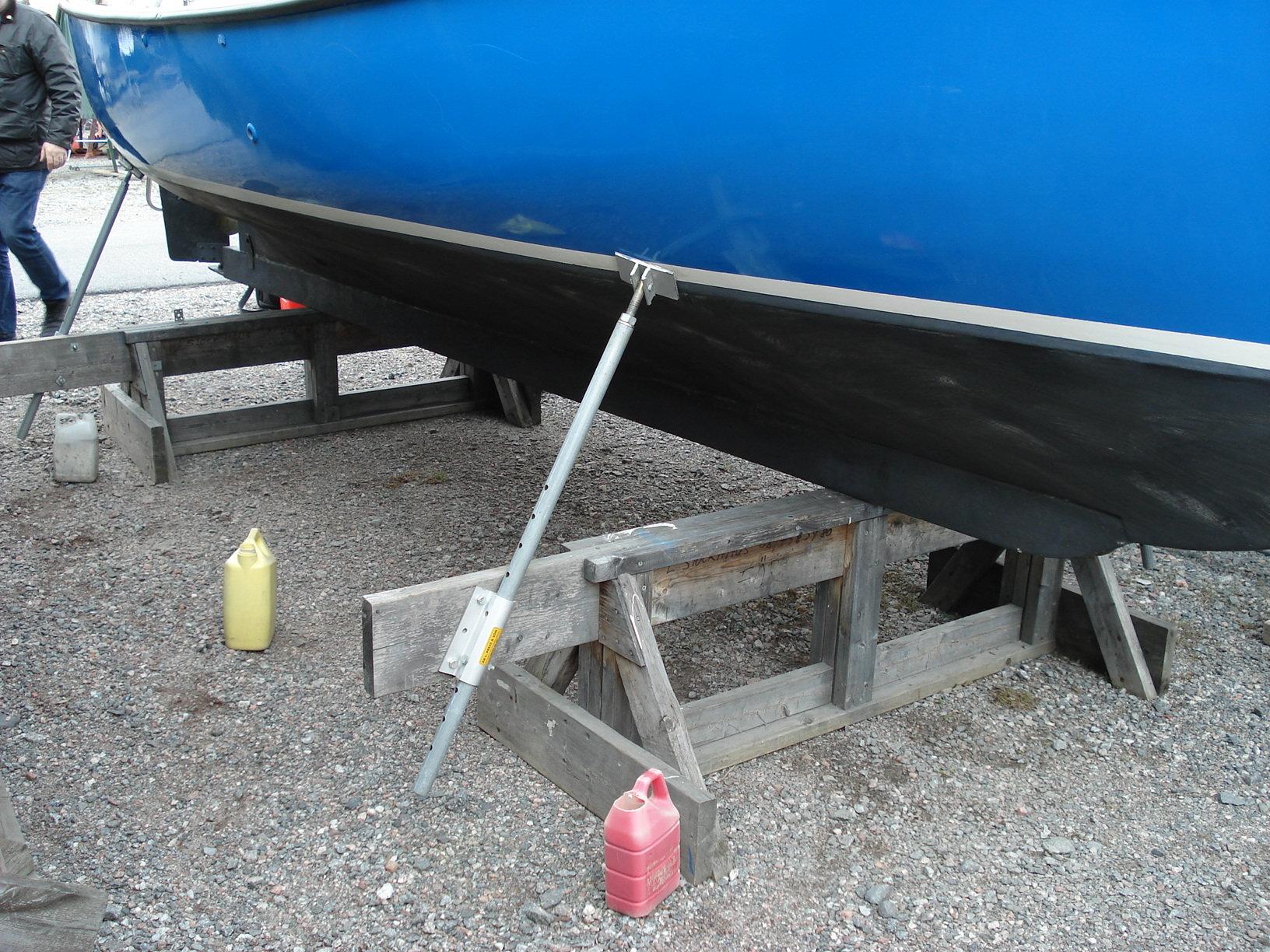 bygga bockar till båt