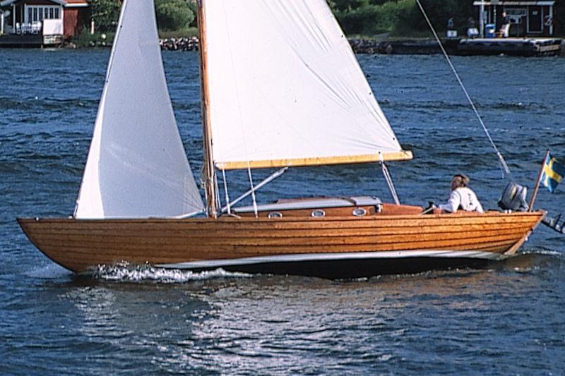 Sunden uppdaterade sin Folkbåt till IF-båt