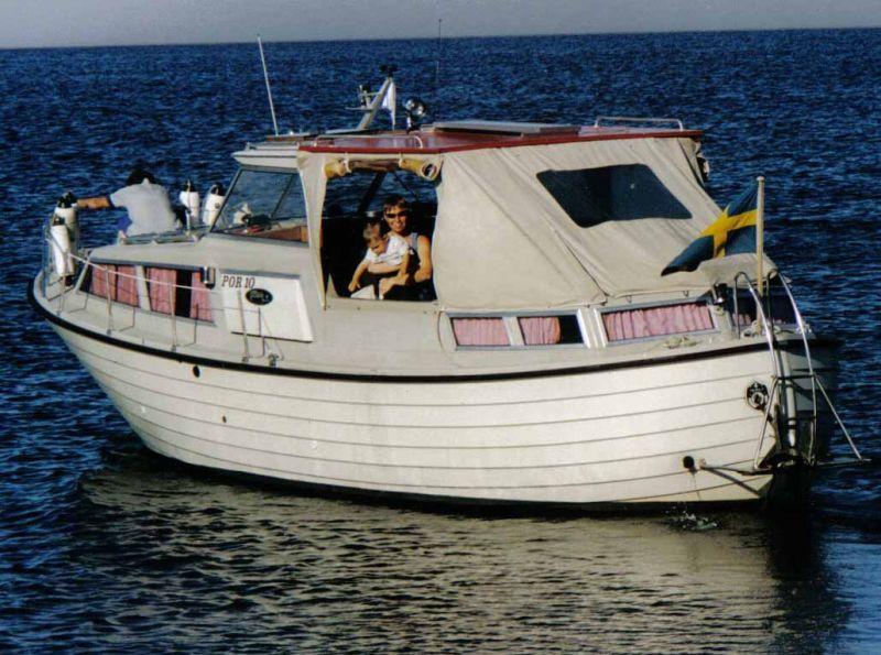 motorbåtar till salu